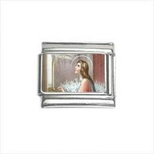 Buy St Cecilia Patron Saint 9mm Italian Charm