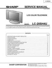 Buy Sharp LC20VM2 (1) Service Manual by download Mauritron #209930
