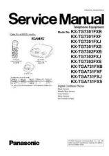 Buy Panasonic KX-TG7301PDB KX-TG7301PDJ KX-TG7301PDS KX-TG7302PDB KX-TG7302PDJ KX-TG7302P
