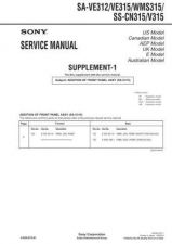 Buy Sony SAVA-29 Technical Manual. by download Mauritron #243726