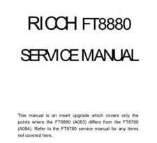 Buy ft8880sm Technical Information by download #115298