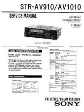 Buy Sony STR-D565-D665 Service Information by download Mauritron #238153
