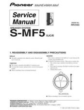 Buy Pioneer S-FCRW2700 Manual by download Mauritron #228153