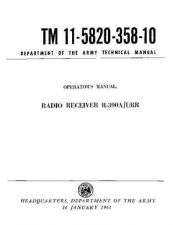 Buy MILITARY SURPLUS TM 11-5820-358-10 Technical Information by download #115488
