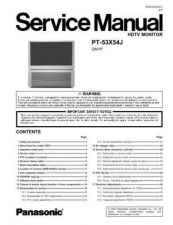Buy Panasonic pvd4745s-sm Service Manual by download Mauritron #268437