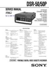 Buy Sony DSR-PD170PD170P PD190P RMT-811.... Service Manual by download Mauritron #2