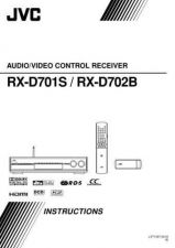 Buy JVC RX-D702B.. Service Manual. On by download Mauritron #272331