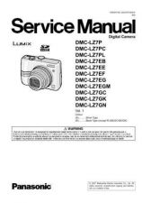 Buy Panasonic DMC-TZ2GD Service Manual with Schematics by download Mauritron #266975