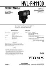 Buy Sony HVL-FH1100 Service Manual by download Mauritron #241430