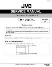 Buy JVC TM-1010PN-C Service Manual Schematic Circuit. by download Mauritron #272606