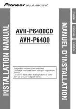 Buy Pioneer 50067 Installation manual AVH-P6400CD 20025281625583870 by download Mau