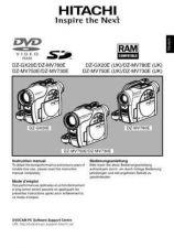 Buy Hitachi DZ-MV730E(UK) DE Manual by download Mauritron #225024