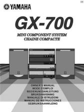 Buy Yamaha GX-700 Operating Guide by download Mauritron #248075
