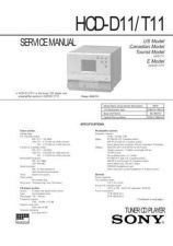 Buy Sony HCD-D11T11 Service Information by download Mauritron #237801