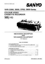 Buy Sony MECHANISM-VR182-194-204NV Service Manual. by download Mauritron #242789