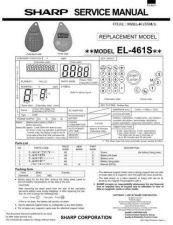 Buy Sharp EL-2615P Technical Information by download Mauritron #232849