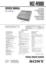 Buy Sony MZ-R700PC Service Manual. by download Mauritron #243190