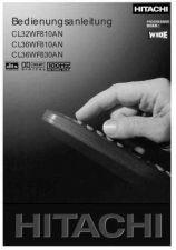 Buy Hitachi CL32WF810AN DE Manual by download Mauritron #224428