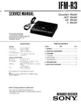 Buy Sony IFM--V3 Service Manual by download Mauritron #232144