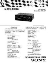 Buy Sony XR-5000 Service Manual. by download Mauritron #246117