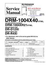 Buy PIONEER DRM1004X40 DRM1004XR21 DRD12XI DRR4XI RRV1772 Technical Information by d
