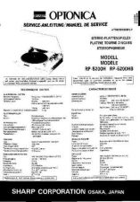 Buy Sharp RP5200H-HB SM DE-FR(1) Service Manual by download Mauritron #210276