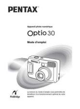 Buy PENTAX OPTIO30 FRE OPM CAMERA INSTRUCTIONS by download #119083