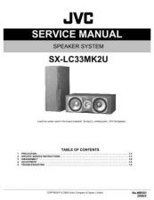 Buy JVC SX-LC33MK2U Service Manual Schematic Circuit. by download Mauritron #272456