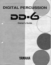 Buy Yamaha DD6E Operating Guide by download Mauritron #247379