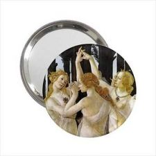 Buy Three Graces Botticelli Art Round Handbag Purse Mirror