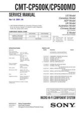 Buy Sony CMT-CP300 Service Manual by download Mauritron #239169