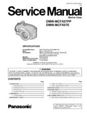 Buy Panasonic DSD0705501SE Service Manual by download Mauritron #267140