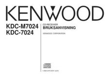 Buy Kenwood KDC-7027 Operating Guide by download Mauritron #221829