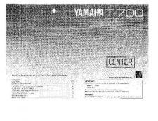 Buy Yamaha T-60 Operating Guide by download Mauritron #250041