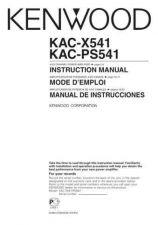 Buy Kenwood KAC-X541 by download Mauritron #221414