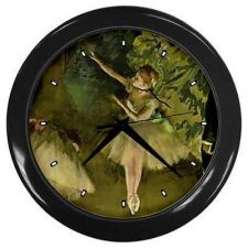 Buy Degas Ballet School Ballerina Art Wall Clock