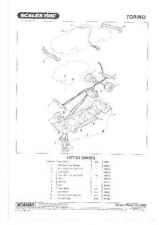 Buy Scalextrix No.362B Torino Service Sheets by download Mauritron #206489
