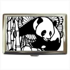 Buy Panda Bear Art Cigarette Money Credit Business Card Case