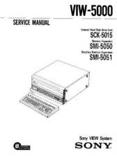Buy Sony VIW-5000 Service Manual by download Mauritron #241933