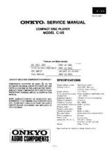 Buy Sony C-05 Service Manual by download Mauritron #236911