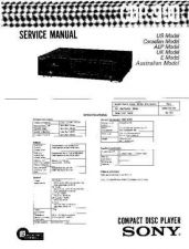 Buy Sony CDP-C100 Technical Information by download Mauritron #235424