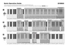 Buy Yamaha YDP160 CLP320 EN QG A0 Operating Guide by download Mauritron #205606