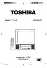 Buy Toshiba VTV1416 Operating Guide by download Mauritron #235899