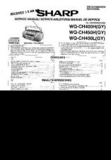 Buy Sharp. WQCH450H-007 Service Manual by download Mauritron #211854