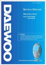 Buy Daewoo R63050P001(r) Manual by download Mauritron #226434