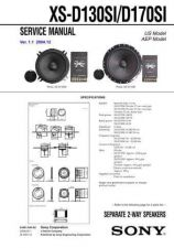 Buy Sony XS-D130SI Mauritron by download Mauritron #229967