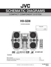 Buy JVC HX-GD8Jsch Service Manual Schematic Circuit. by download Mauritron #271101