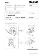 Buy Fisher DC-MM7000-01 Service Manual by download Mauritron #215379