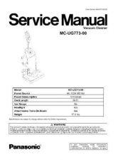 Buy Panasonic MC-CG973-00 Service Manual by download Mauritron #267628