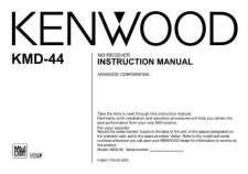 Buy Kenwood KMD-44 Operating Guide by download Mauritron #219189